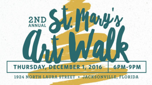2nd Annual St. Mary's Art Walk