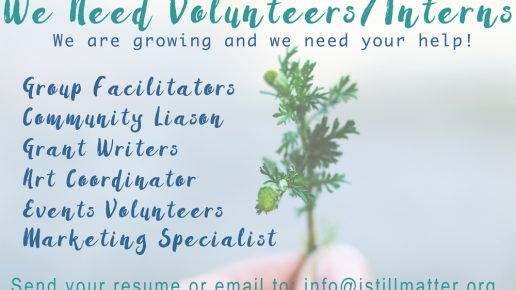 Come Volunteer With Us!